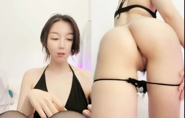 【BloodMoon】台湾女神高价收费房情趣制服全裸掰逼自慰20210312