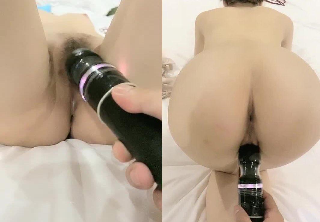 【真的很奶丝啊】金手指+大黑牛紫薇穴里流出白浆编号10319